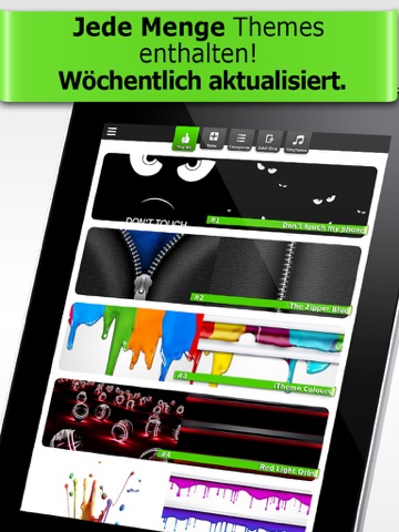 iTheme - Themes for iPhone, iPad and iPod Touch Screenshot