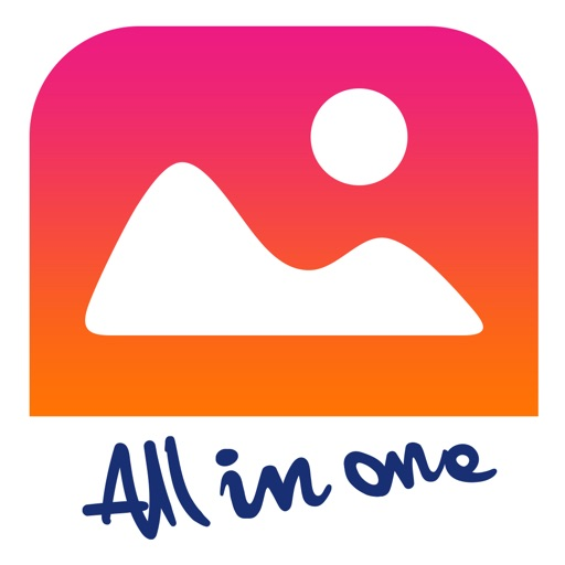 AllinOne Photo Editor & Face Swap- Text on Collage iOS App