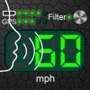 音声対応スピードメーター - 循環するコンピュータ