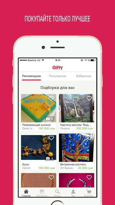 download Gifty.uz - подарки и сувениры apps 3