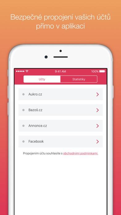 Snímek obrazovky iPhonu 5