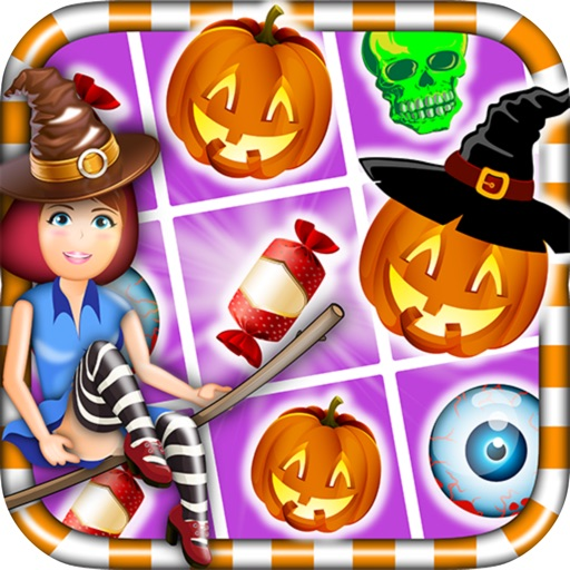 Candy Witch Puzzle Halloween iOS App