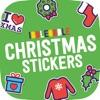 Ibbleobble Christmas Stickers