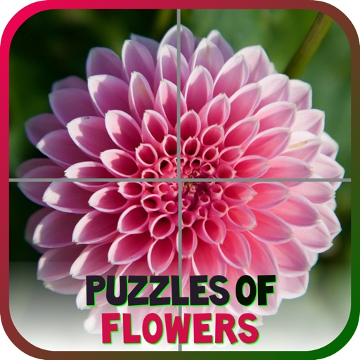 Puzzles of Flowers Free iOS App