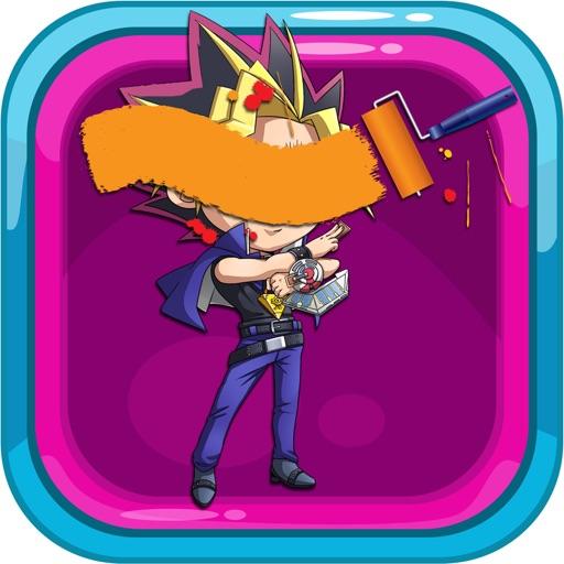 Coloring Page Yugioh Version iOS App