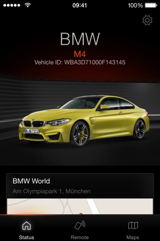 Download My BMW Remote app for iPhone and iPad