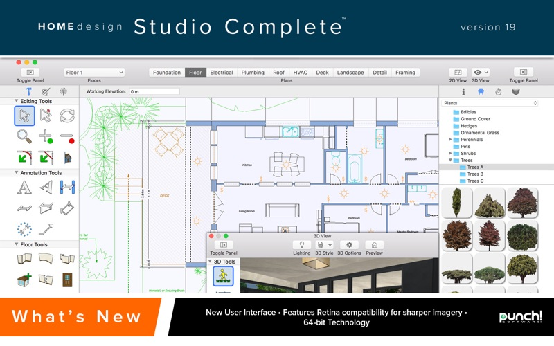 Punch Home Design Studio Complete 19 on the Mac App Store