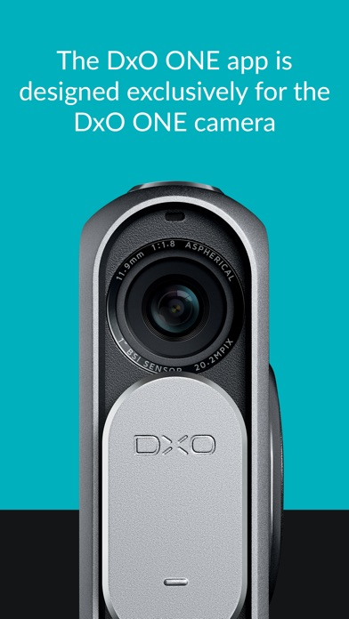 Dxo one professional quality connected camera on the app - Camera connectee iphone ...