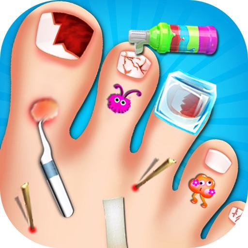 Toe Nail Doctor - Little Nail Surgery kids games iOS App