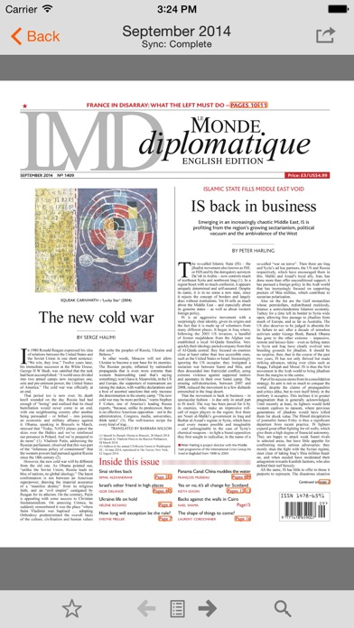 Le Monde Diplomatique English review screenshots