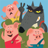 Irene Deev - The Adventures of the Three Little Pigs  artwork