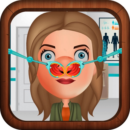 Nose Doctor Game for Girls Meet World Version Icon