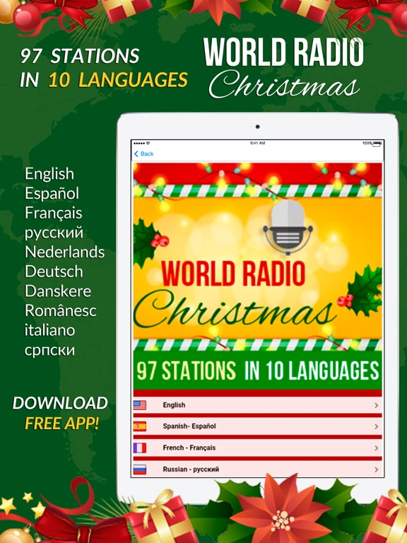 World Radio Stations Christmas on the App Store