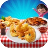 Seafood Deep Fry Maker Cook - A Fast Food Madness