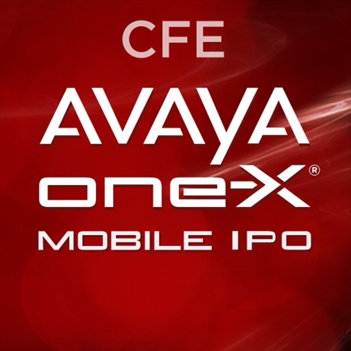 Avaya one-X® Mobile Preferred for IPO - CFE