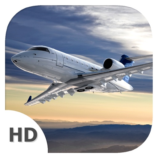 Flight Simulator (Bombardier Challenger 605 Edition) - Become Airplane Pilot iOS App