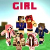Best cute Girl Skins for Minecraft PE