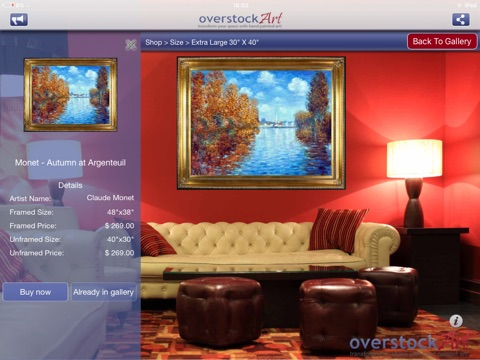 overstockArt.com Oil Paintings HD screenshot 2