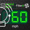 Velocímetro + Alerta de límite de velocidad
