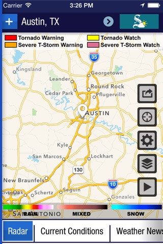 Austin American-Statesman Weather screenshot 3