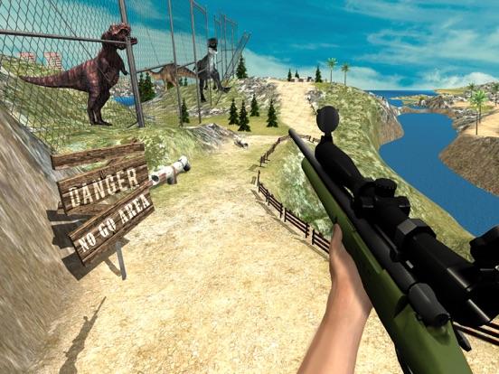 Дино Охота: Джунгли Снайпер Стрелялки RPG для iPad