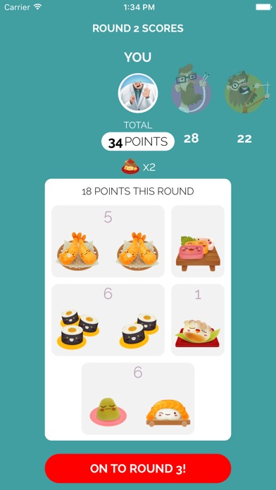 Sushi Go! Screenshots
