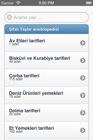 1500 Yemek Tarifi screenshot 1