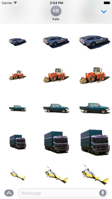 Car Truck Digger Stickersのスクリーンショット2