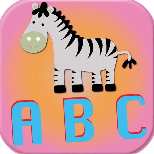 Kid English Learning First ABC Animal Listening iOS App