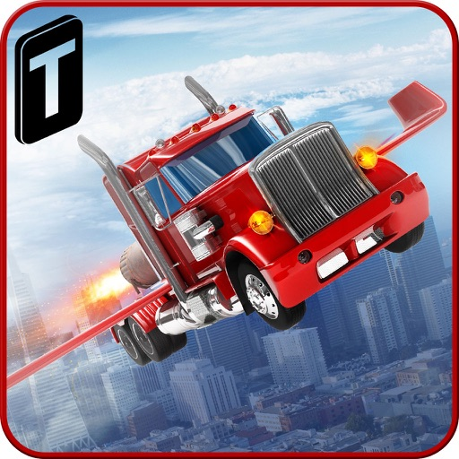Modern Flying Truck Sim 3D