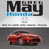 Greg May Honda