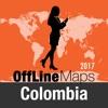 КолумбияОффлайнКартаи