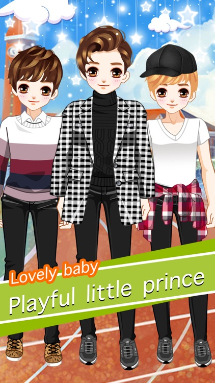 Headstrong boy - Cute boys girls dress up game by cong bi