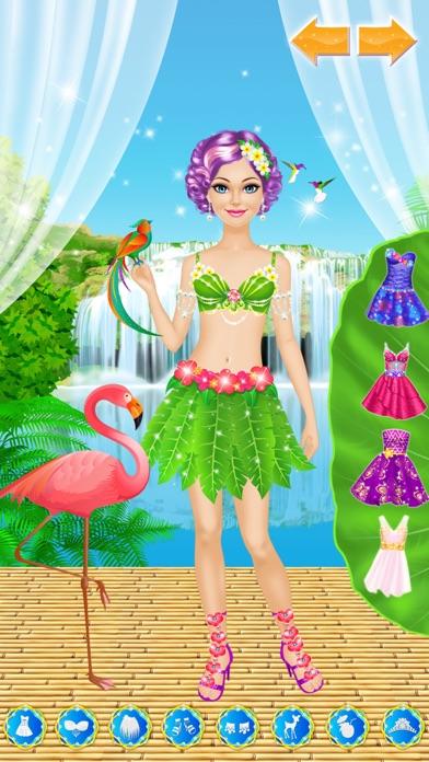 Tropical Princess - Makeup and Dressup Salon Game Screenshot 4