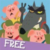 The Adventures of the Three Little Pigs FREE