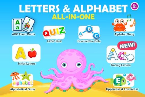 Letter quiz • Alphabet School & ABC Games 4 Kids screenshot 1