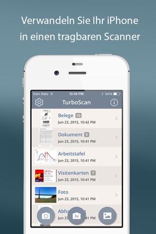 TurboScan™ Pro: PDF scanner screenshot 1
