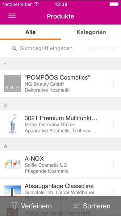 Screenshot von BEAUTY DÜSSELDORF5