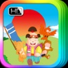 Momotaro - Bedtime Fairy Tale iBigToy app for iPhone/iPad