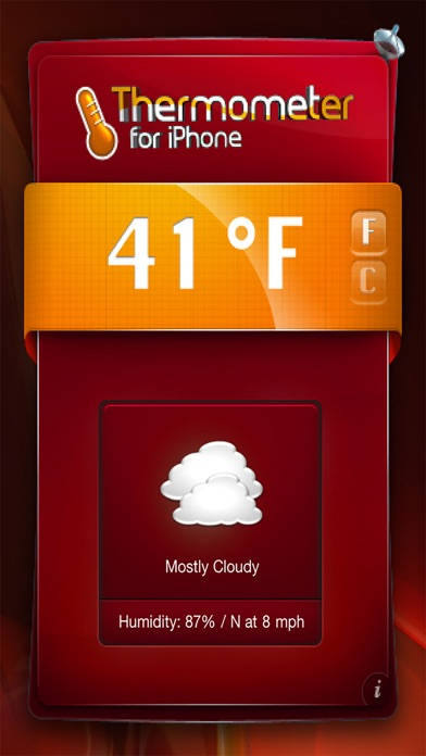 download Thermometer- temperatura y de tiempo! apps 0