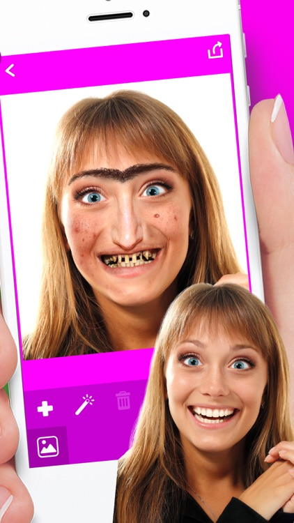 Ugly Face Changer! - Super Funny Photo Montage Maker with