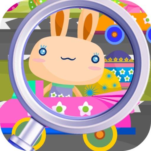 Spot Five Easter Bunny iOS App