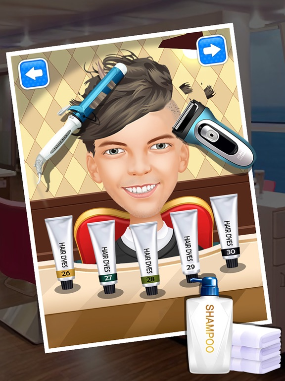 Messy Hair Salon Girls Games for One Direction on the App Store
