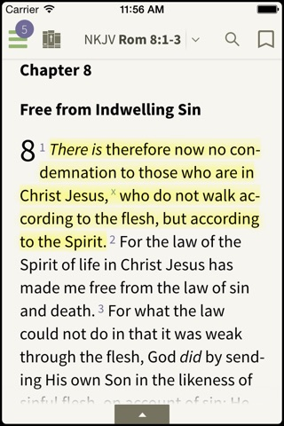 NKJV Bible by Olive Tree screenshot 1