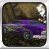 Purple Car Drift racer road speed