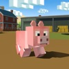 Blocky Pig Simulator 3D - Pig survival