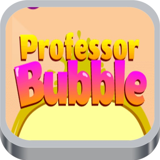 Professor Bubble Shoot iOS App