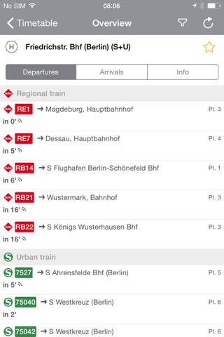 BVG FahrInfo Plus Berlin screenshot 4