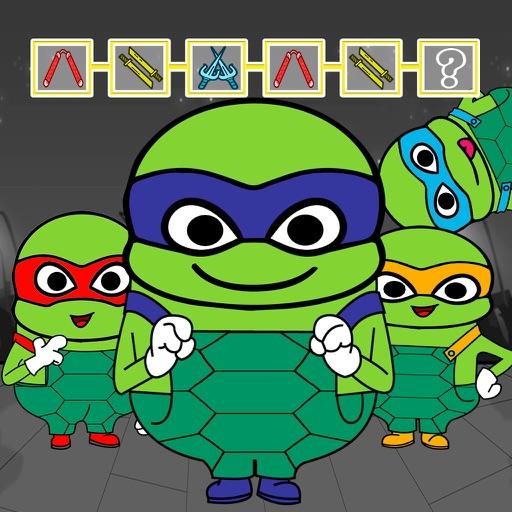 Pattern Game For Hero Teenage Mutant Ninja Turtles iOS App