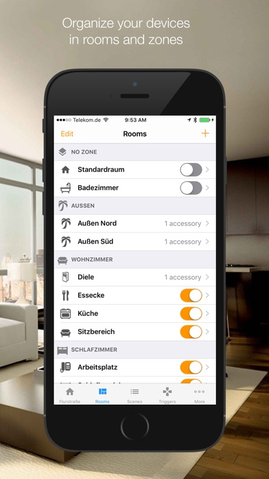 myhome home automation on the app store. Black Bedroom Furniture Sets. Home Design Ideas